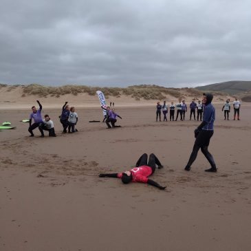 Croyde, training